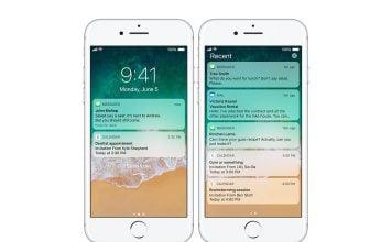 iOS 11 Kilit Ekranı