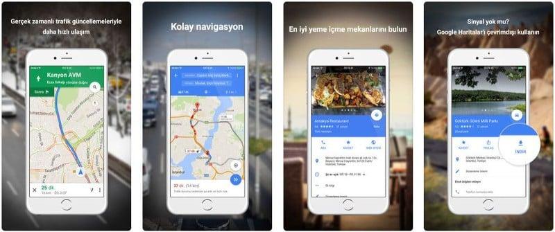 Maps Ekran Görüntüsü