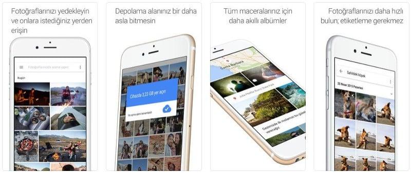 Photos Ekran Görüntüsü