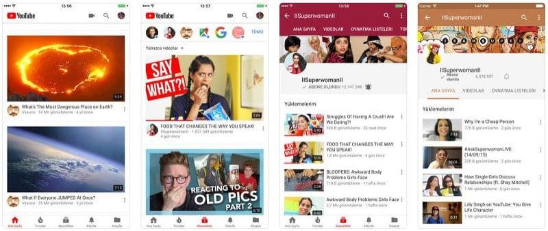 Youtube Ekran Görüntüsü