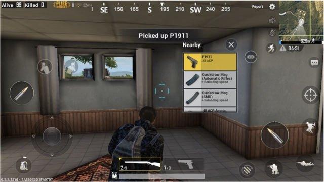PUBG Mobile Oyun içi