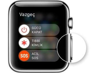 Apple Watch'unuzu yeniden başlatma