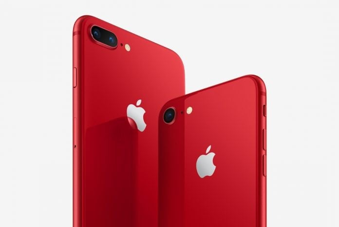 iPhone 8 & 8 Plus Product Red