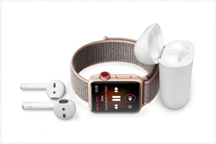 Apple Watch ile müzik dinleme