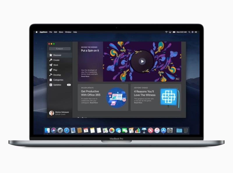 macOS Mojave - App Store