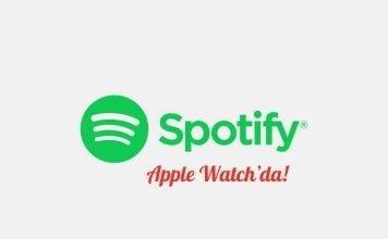 Spotify Apple Watch'da!