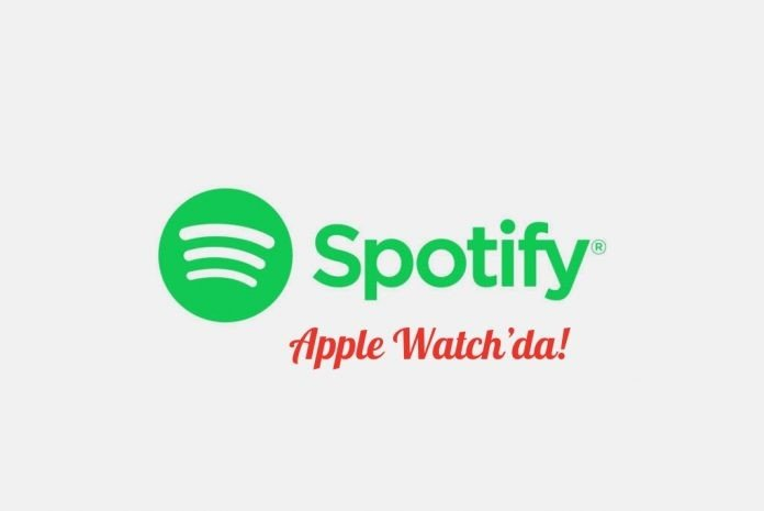 Spotify Apple Watch'da!
