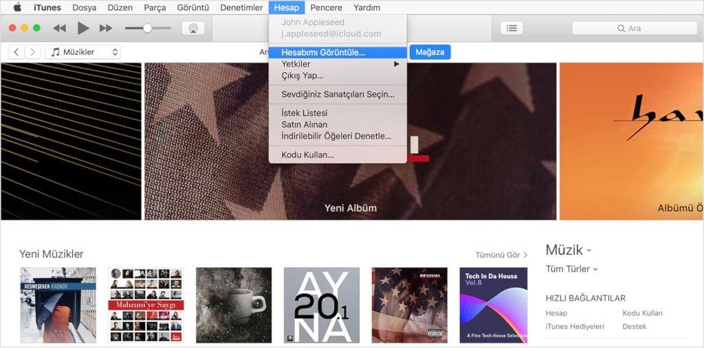 iTunes Ekran Görüntüsü - 1