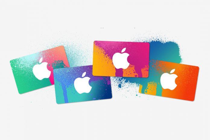 App Store ve iTunes Hediye Kartları