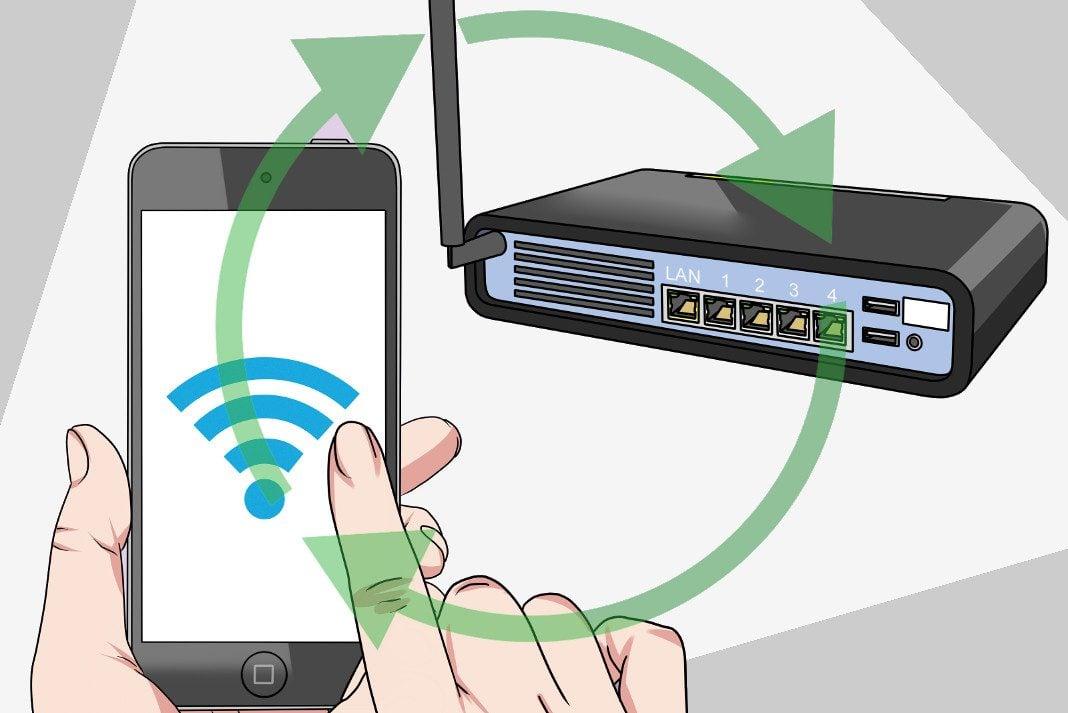 Wi-Fi Şifre Paylaşma