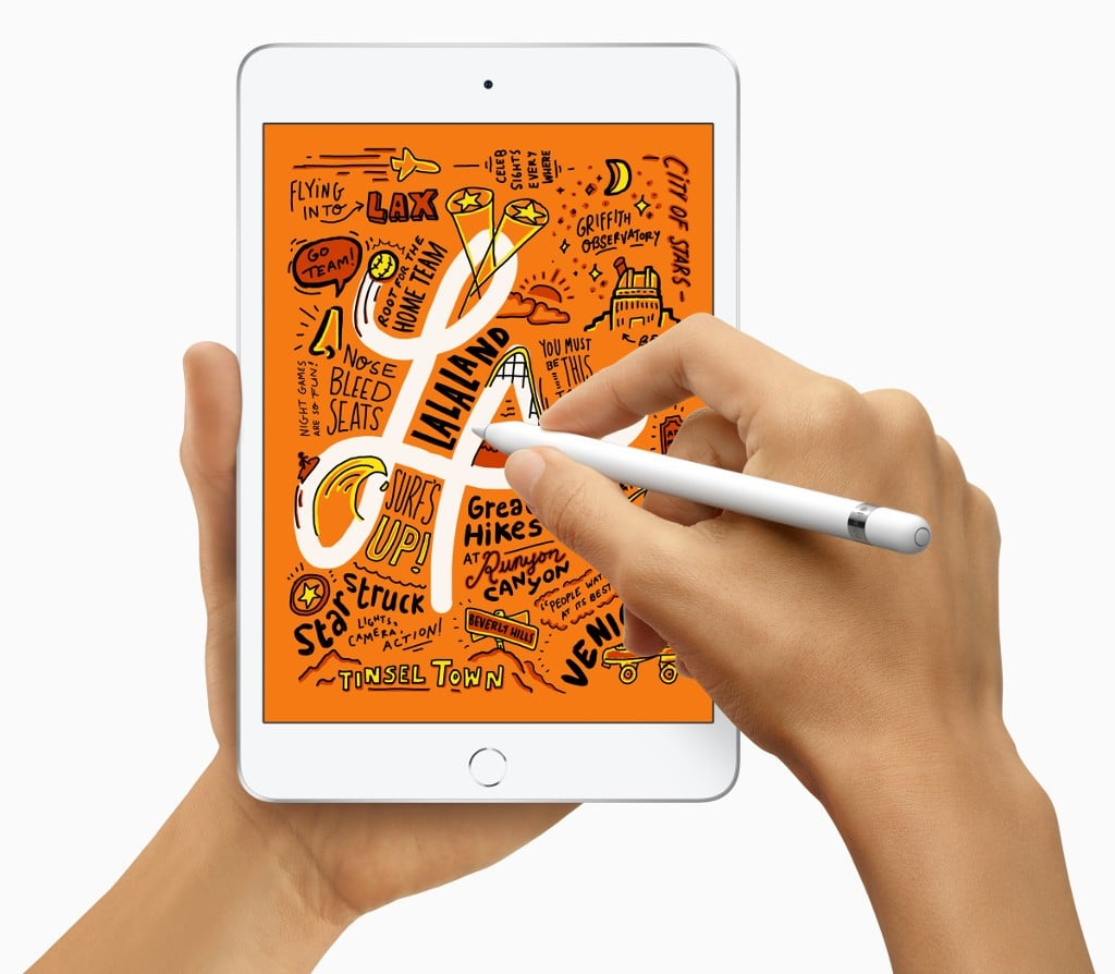 Apple Pencil uyumlu Yeni iPad mini