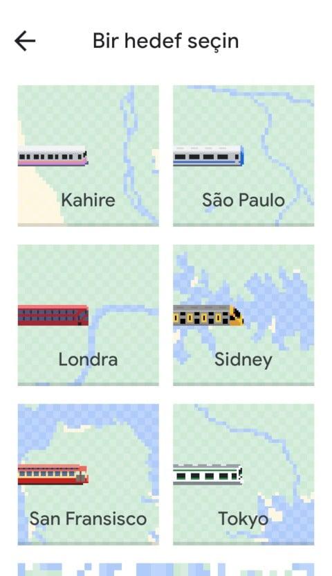 Yılan oyunu Google Haritalar'da!