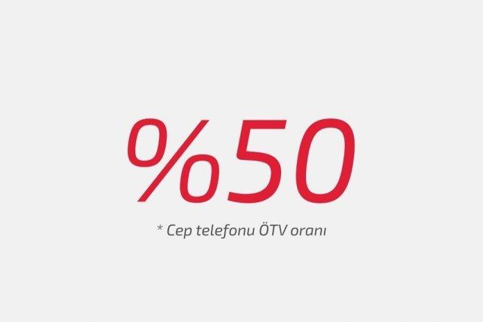 Cep telefonlarında ÖTV oranı yüzde 50'ye çıktı