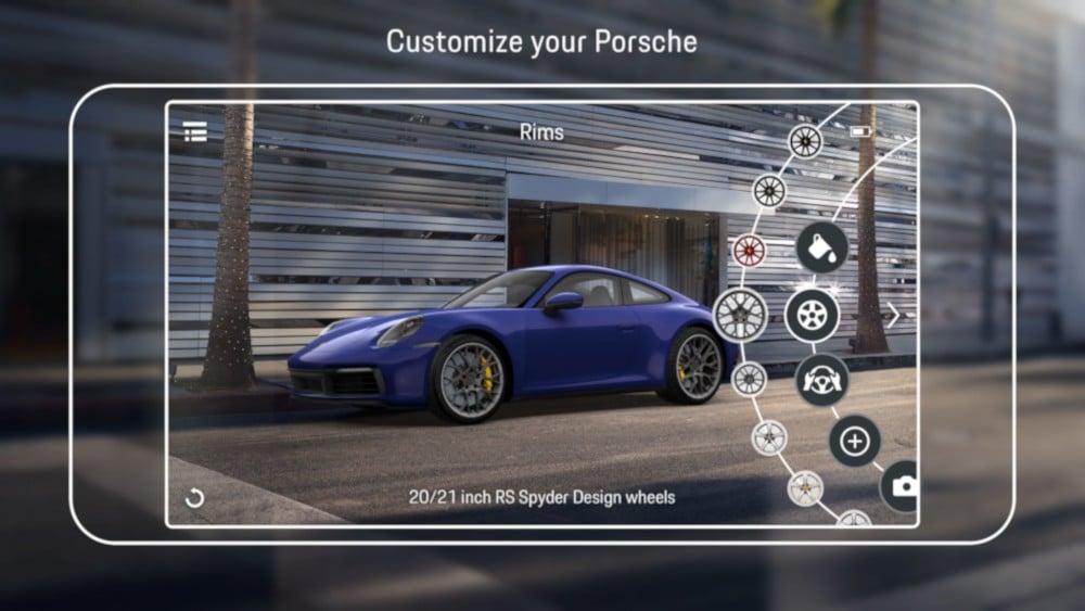 Porsche AR Visualizer