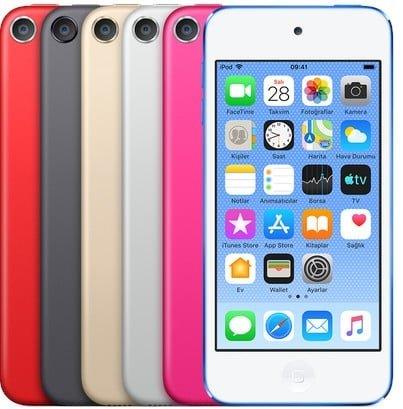 yeni iPod Touch tanıtıldı