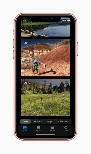 iOS 13 Fotoğraflar