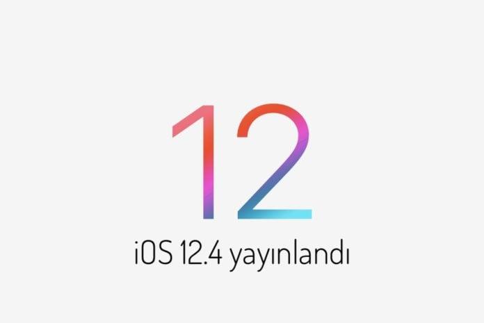 iOS 12.4 yayınlandı