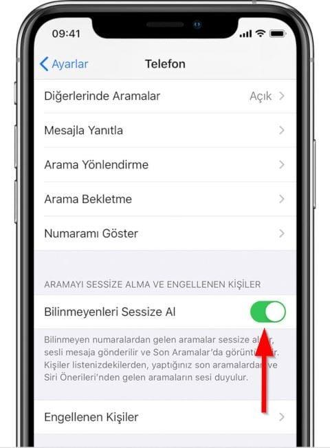 iOS 13 ile bilinmeyen numaralardan gelen aramaları sessize alabilirsiniz!