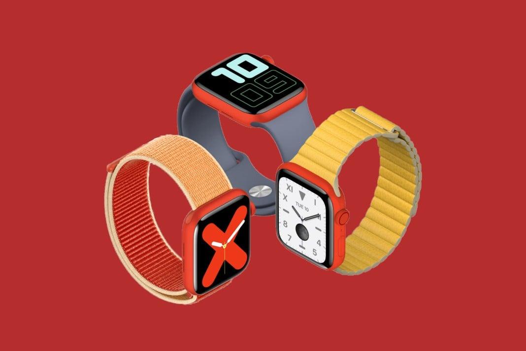 Kırmızı renk 5. nesil Apple Watch mu geliyor?