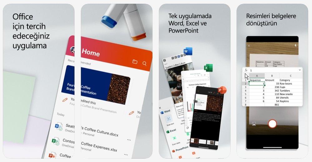 Microsoft Office App Store'da