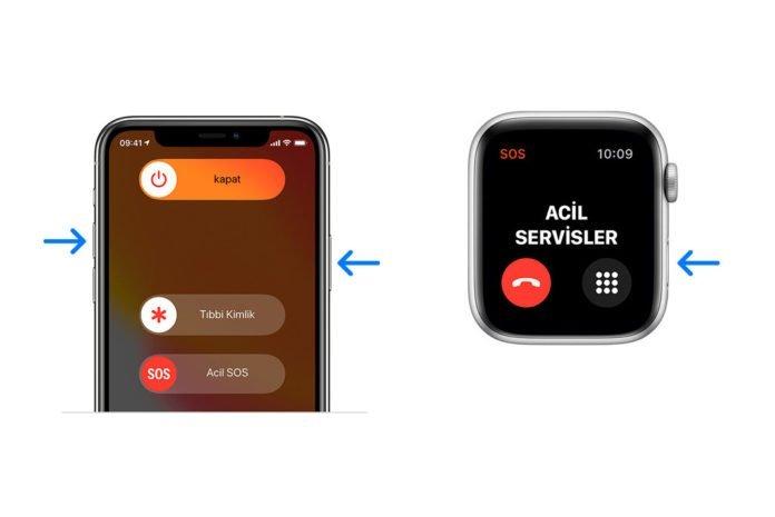 iPhone ve Apple Watch'unuzu acil bir durumda yardım almak için nasıl kullanabilirsiniz?