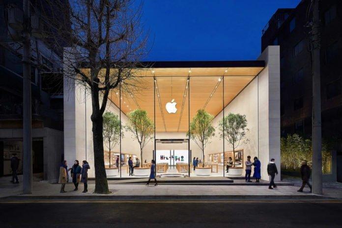 Apple'ın Seul'deki mağazası yeniden açılıyor!