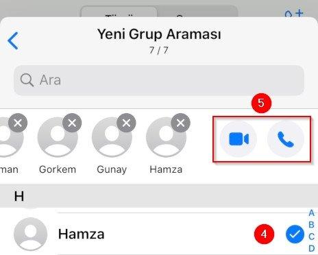 WhatsApp Grup Araması