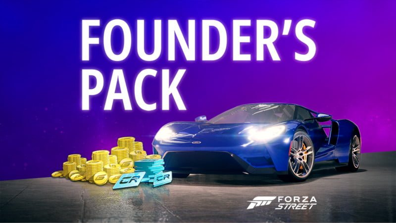 Forza Street Founder's Pack