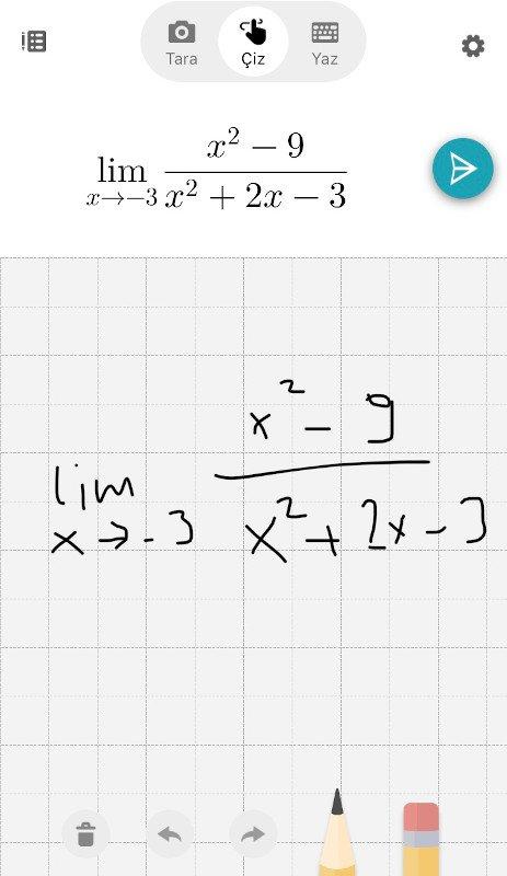 Microsoft Math Solver - Çiz 2