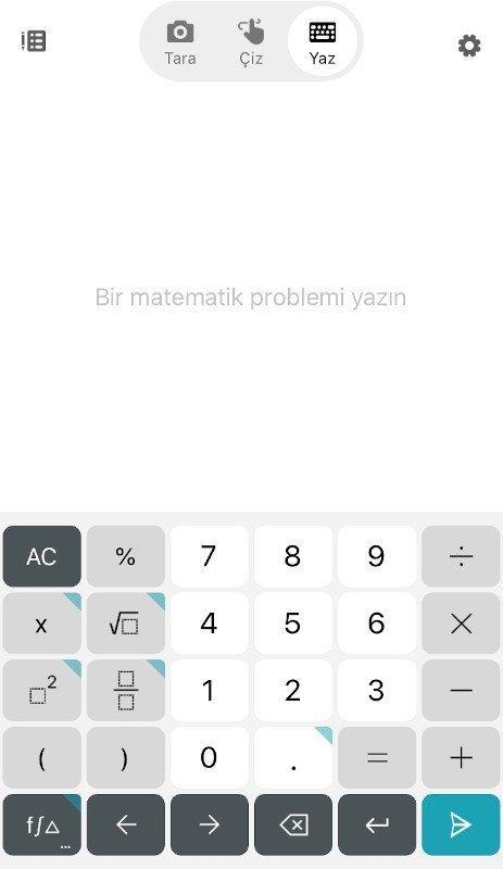Microsoft Math Solver - Yaz 1