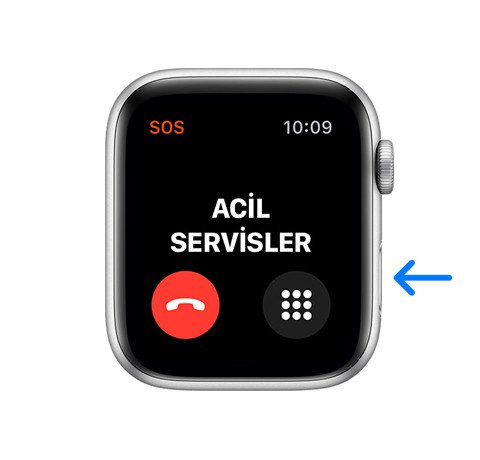 Apple Watch ile Acil durum sesli araması