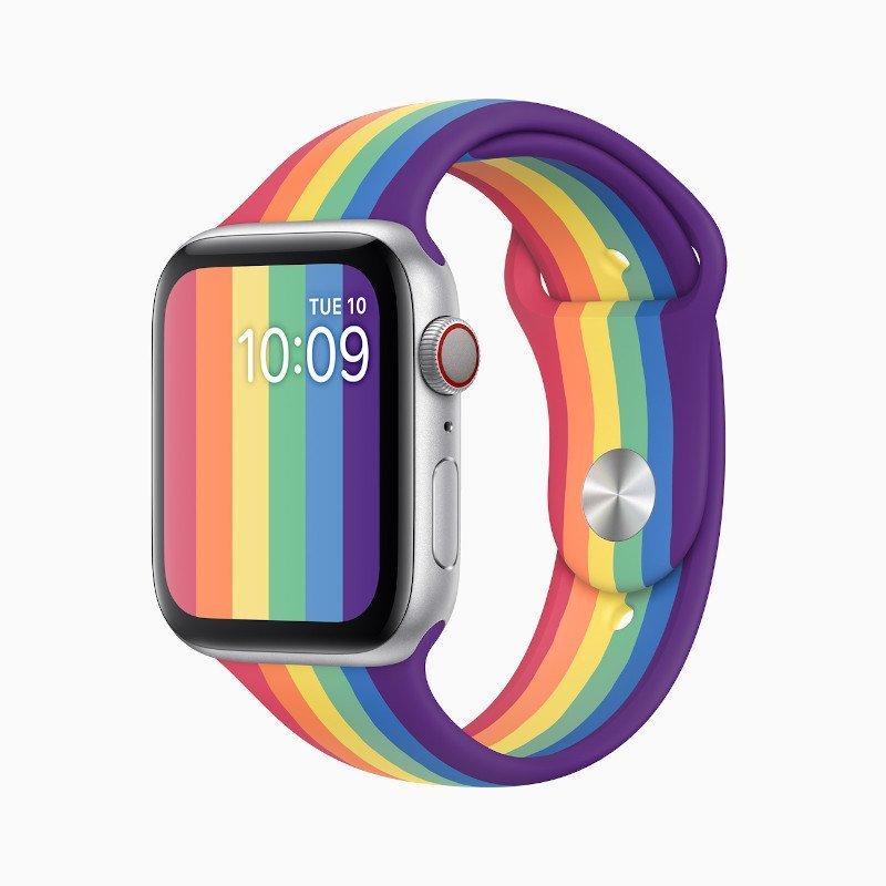 Yeni Apple Watch Pride Edition Spor Kordon