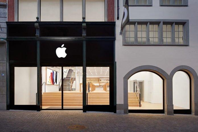 İsviçre'deki dört Apple Store 12 Mayıs'ta yeniden açılıyor