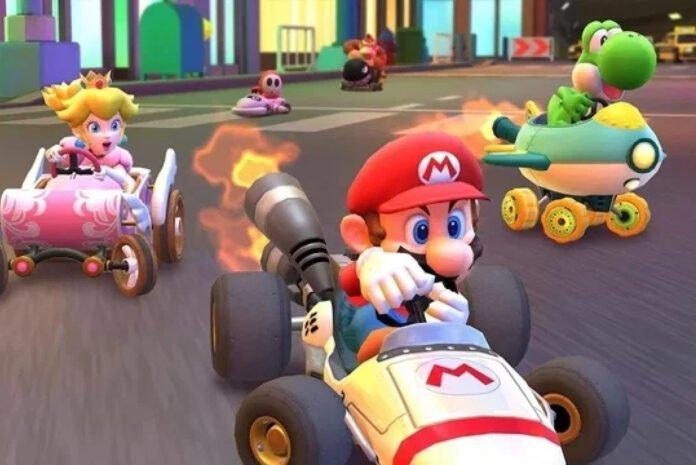Mario Kart Tour'a yatay mod desteği geldi