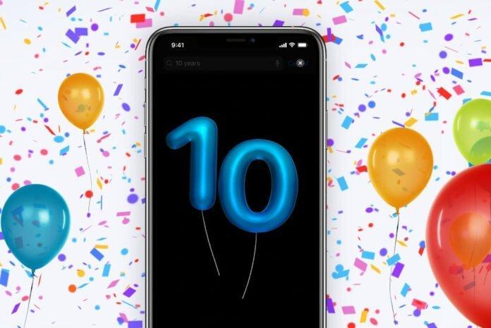 Apple Store Uygulamasının 10. Yıl kutlamasına katılmak ister misiniz?