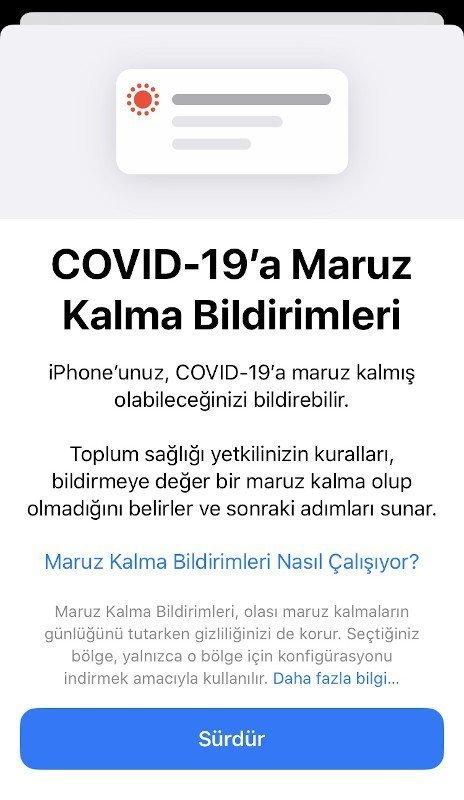 Maruz kalma bildirimleri özelliği ile iOS 13.7 yayınlandı