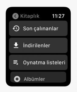 Apple Watch için YouTube Music