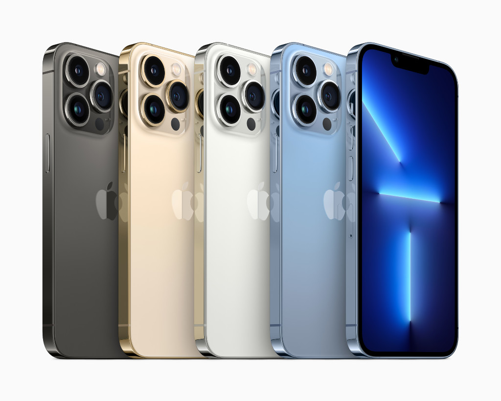 iPhone 13 Pro ve iPhone 13 Pro Max